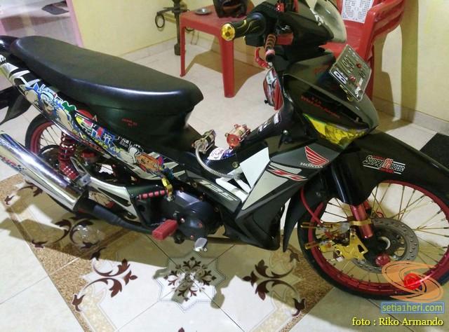 Rincian harga modifikasi Honda Supra X 125