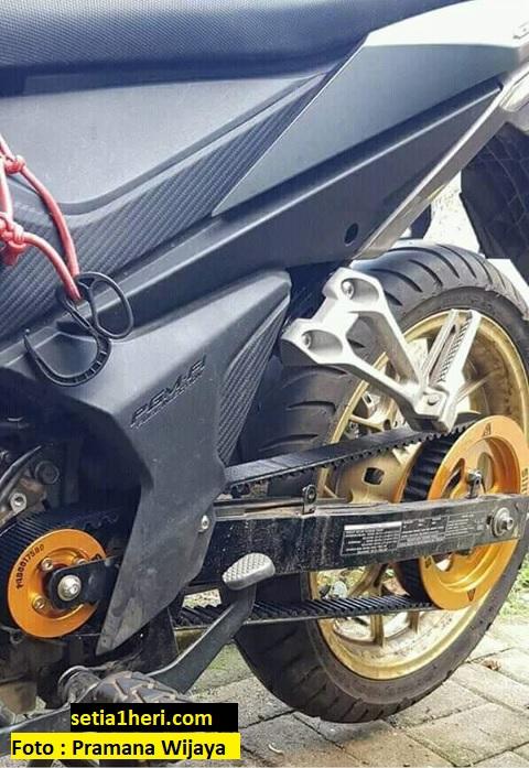 Pengalaman biker menggunakan vanbelt atau driving belt pada sepeda motor