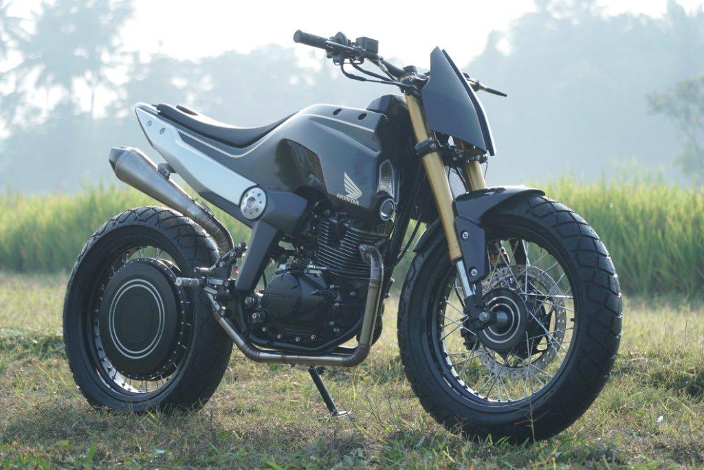 3 konsep Modifikasi pada trail Honda CRF150L