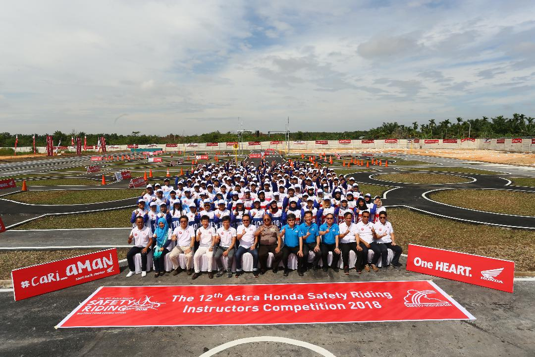 Daftar Pemenang Astra Honda Safety Riding Instructors Competition (AH-SRIC) tahun 2018 (1) di Pekanbaru, Riau