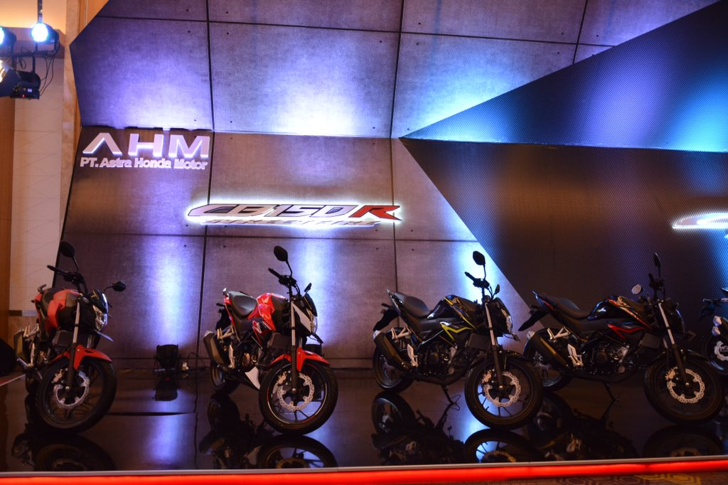 Facelift Honda CB150R StreetFire tahun 2018, ini perubahannya brosis