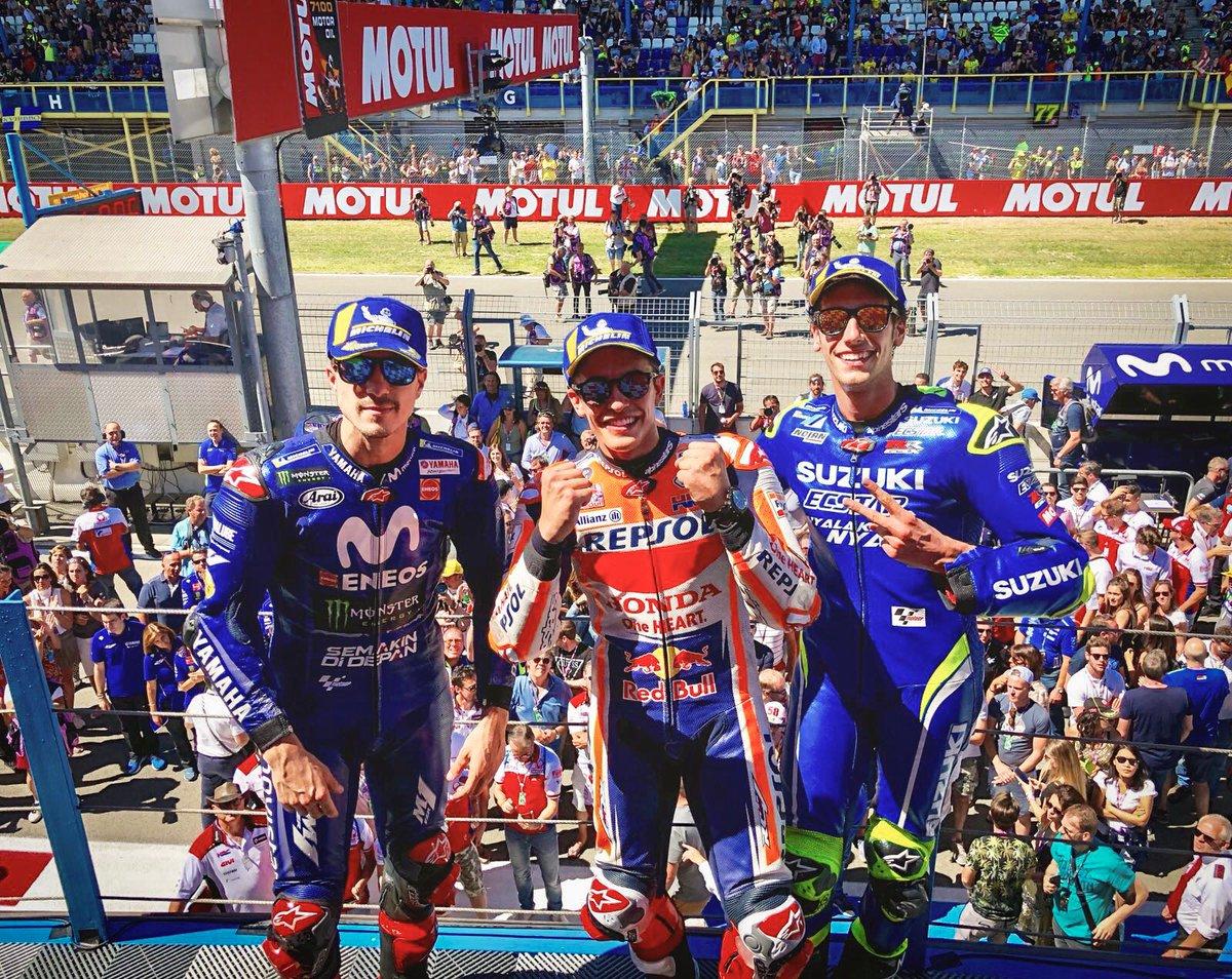 Hasil Moto GP Assen Belanda 2018, Marquez tak terbendung