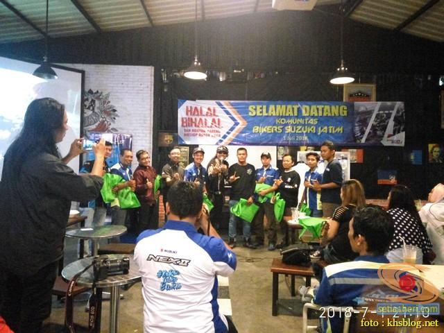 Meriahnya Halal Bihalal Biker Suzuki Jawa Timur dan Nobar Moto GP Assen 2018 (16)