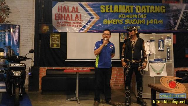 Meriahnya Halal Bihalal Biker Suzuki Jawa Timur dan Nobar Moto GP Assen 2018 (18)