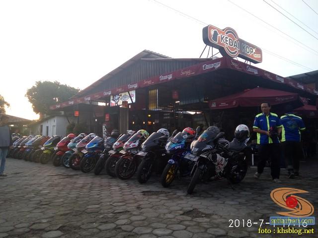 Meriahnya Halal Bihalal Biker Suzuki Jawa Timur dan Nobar Moto GP Assen 2018 (9)