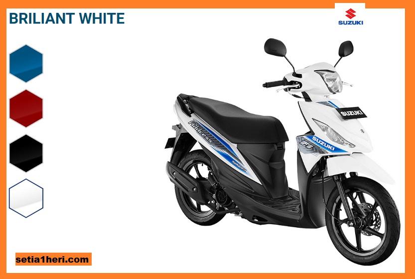 Pilihan Warna Baru Suzuki Address FI Tahun 2018