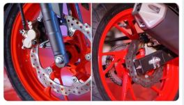 wavy disk brake honda cb150r tahun 2018