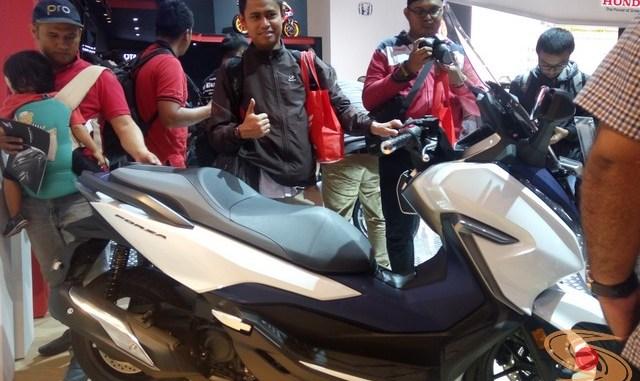 Honda Forza di pameran GIIAS tahun 2018 (1)
