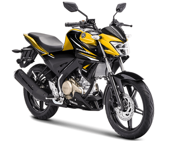 Warna dan stripping baru All New Vixion warna kuning tahun 2018