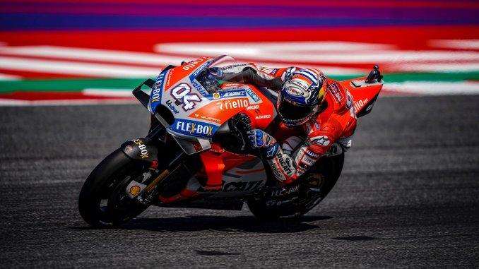 Pembalap Ducati asal italia yakni Dovizioso