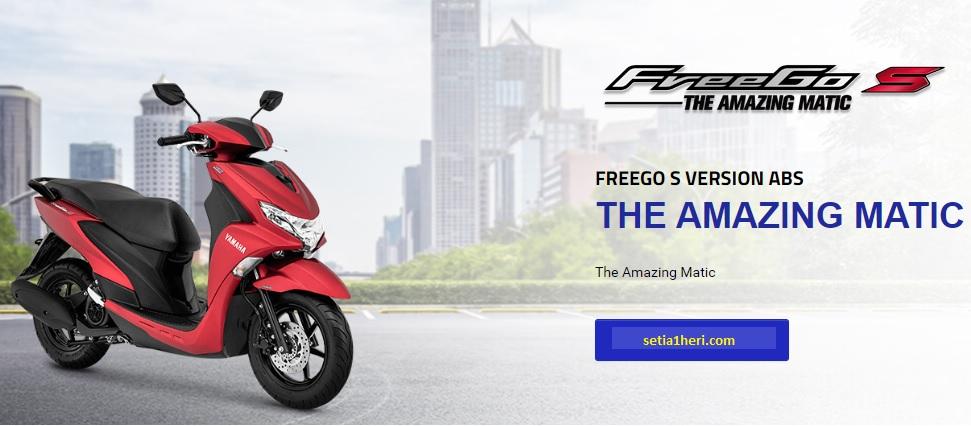 Spesifikasi, harga dan pilihan warna Yamaha FreeGo 125 tahun 2018