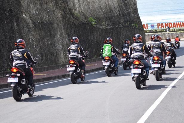Suzuki GSX150 Bandit turing sambangi Pulau Dewata