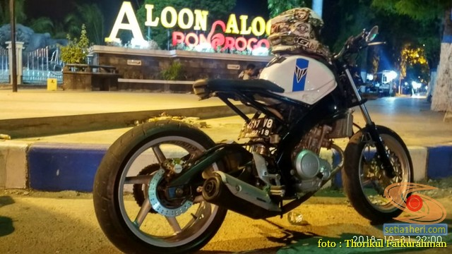Sadis, Modifikasi Yamaha vixion 2014 Minorfighter asal Ponorogo (13)