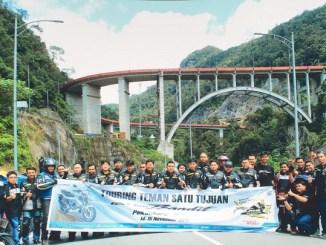 Suzuki GSX150 Bandit diajak turing Pekanbaru hingga Padang, bandel brosis (1)
