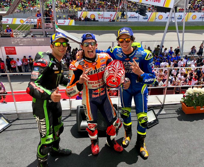 hasil moto gp malaysia tahun 2018