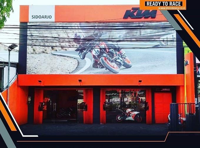 lokasi diler KTM Sidoarjo