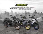 3 Pilihan warna baru Yamaha Aerox 155 VVA tahun 2018, lebih sporty brosis