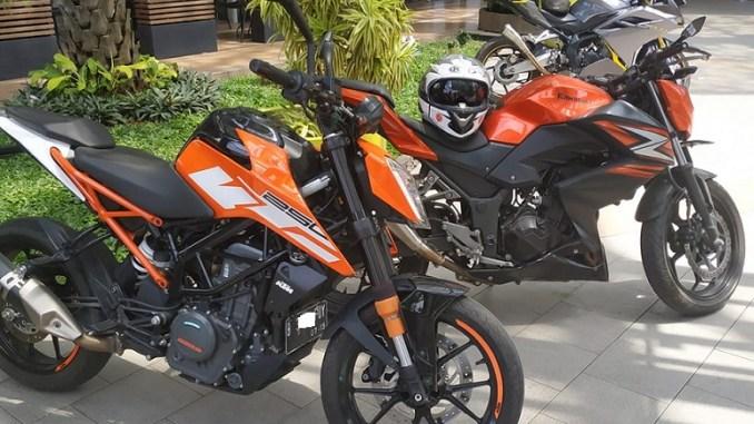 Pilih mana antara KTM Duke 250 dan Kawasaki Z250