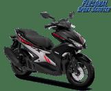 Pilihan warna baru Yamaha Aerox 155 VVA tahun 2018 warna black atau hitam
