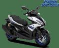 Pilihan warna baru Yamaha Aerox 155 VVA tipe R tahun 2018 warna putih atau silver