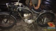 Restorasi motor klasik, unik dan langka merk DKW Union Tahun 1955 (Made in Germany)