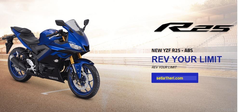 Yamaha R25 tahun 2018 versi ABS, berikut harganya brosis