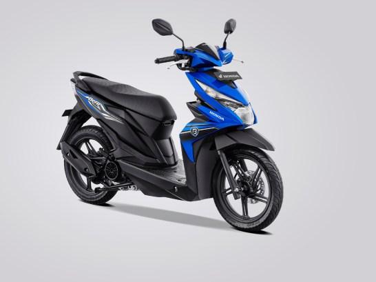 Daftar 8 Pilihan warna dan stripping baru New Honda BeAT tahun 2019 (3)