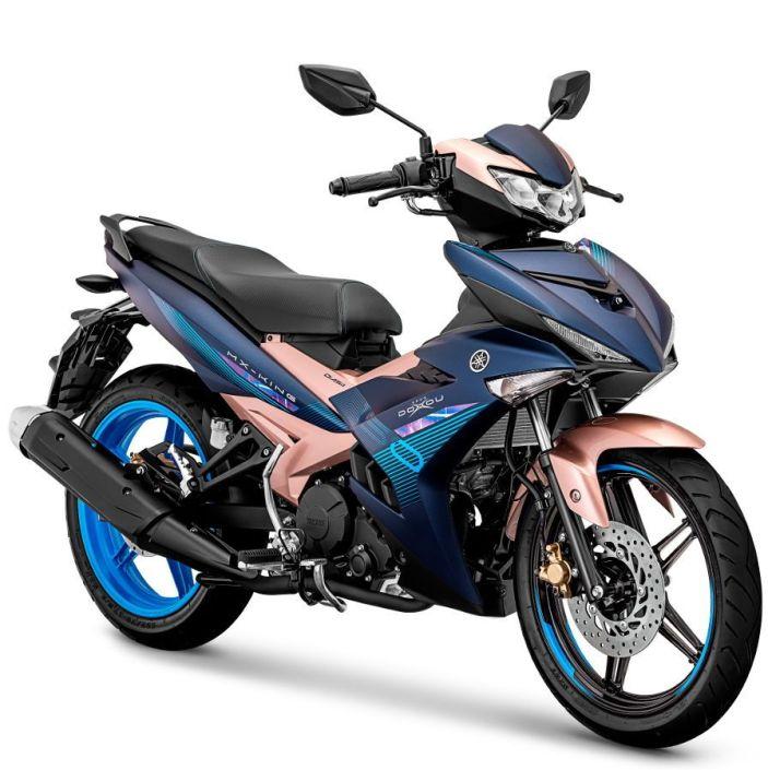 Spesifikasi dan Harga Yamaha Aerox 155 VVA & MX King 150 versi Doxou tahun 2019