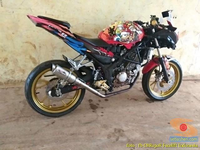 Kumpulan Gambar Modifikasi Honda CBR150R Tanpa Fairing