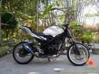 Kumpulan gambar modifikasi Honda CBR150R tanpa fairing (7)