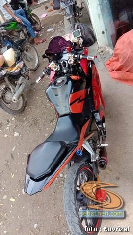 Modifikasi Honda Supra Fit full fairing kayak motor sport brosis (5)