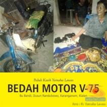 Restorasi motor lawas Yamaha V75, keren dan kinyis-kinyis brosis (3)