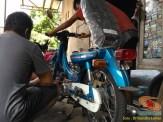 Restorasi motor lawas Yamaha V75, keren dan kinyis-kinyis brosis (8)
