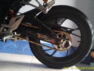 Review gearset 428 15-41T pada Honda CBR150R (2)
