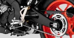 gambar swing arm Yamaha MT-15 tahun 2019