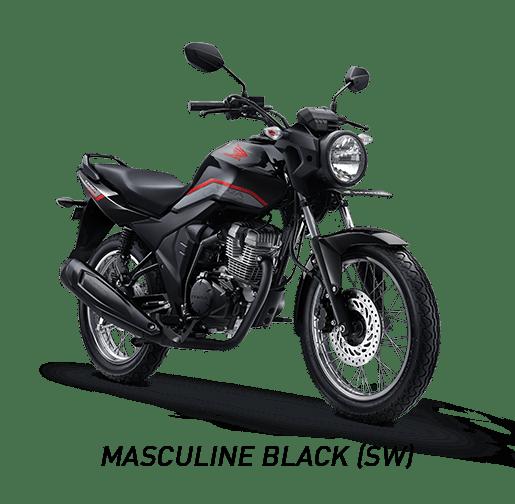 Pilihan Warna Honda CB150 Verza tahun 2019