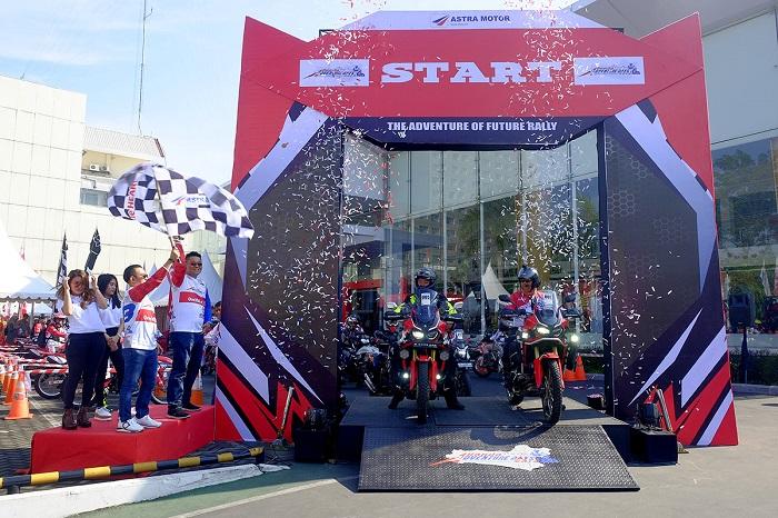 Honda Adventure Days 2019, sukses trabas Semarang hingga Jogja brosis