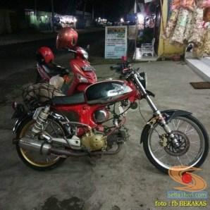 Kumpulan foto modifikasi sepeda motor salah pergaulan ...eh swap engine maksudnya brosis.. (10)