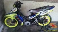 Kumpulan gambar modifikasi sepeda motor pakai piringan cakram besar brosis (17)