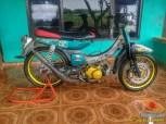 Kumpulan gambar modifikasi sepeda motor pakai piringan cakram besar brosis (19)