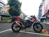 Kumpulan gambar modifikasi sepeda motor pakai piringan cakram besar brosis (5)