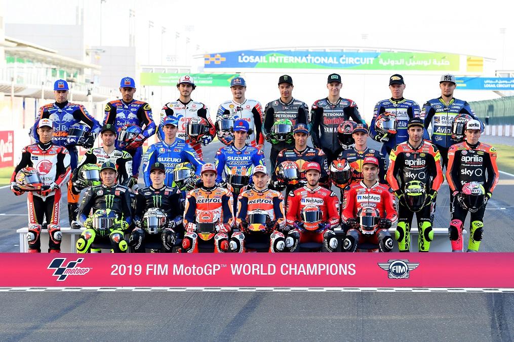 daftar pembalap moto gp tahun 2019