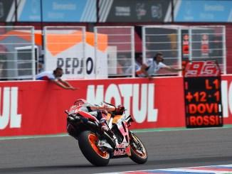Hasil Moto GP Argentina 2019 : Marquez tak terkejar, 5 pembalap DNF