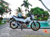 Kumpulan foto modifikasi velg repaint pada Suzuki Satria F150 (2)