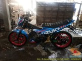 Kumpulan foto modifikasi velg repaint pada Suzuki Satria F150 (3)