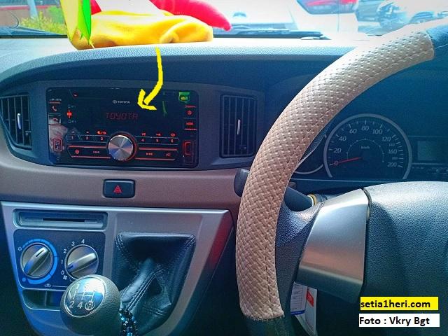 Mesin mobil Calya sudah mati tapi di tape masih muncul tulisan Toyota, coba cara ini brosis