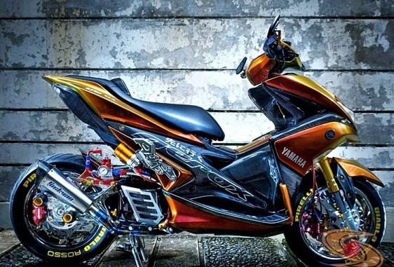 Foto Modifikasi Motor Aerox 155