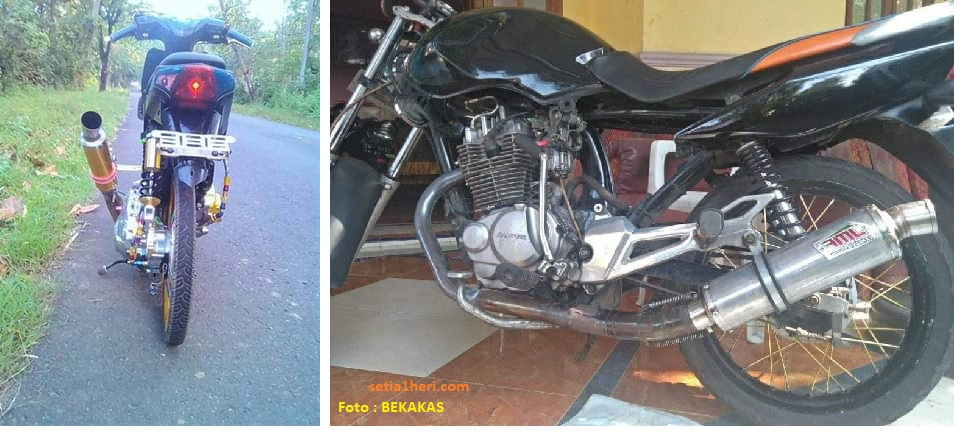 modifikasi knalpot kidal pada sepeda motor