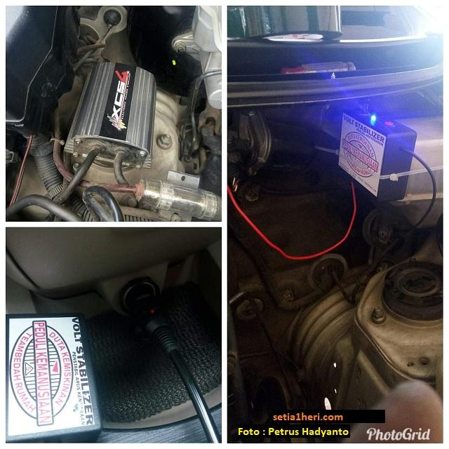 pengalaman warganet memakai volt stabilizer pada mobil