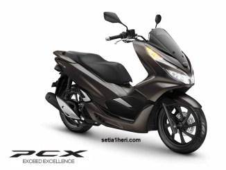 Magnificient Matte Brown, warna baru Honda PCX tahun 2019